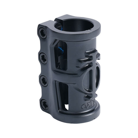 Oath Cage V2 Alloy 4 Bolt SCS Clamp - Anodised Satin Black
