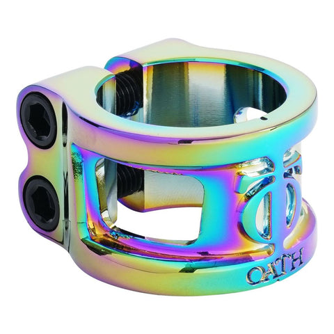 Oath Cage V2 Alloy2 Bolt Clamp - Neochrome