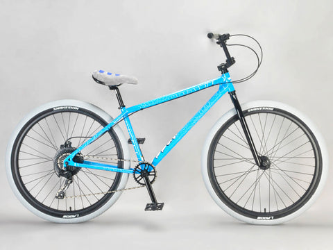 Mafia Bomma 27.5 Inch Blue Crackle Wheelie Bike