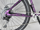 Mafia Bomma 27.5 inch Purple Splatter Wheelie  Bike