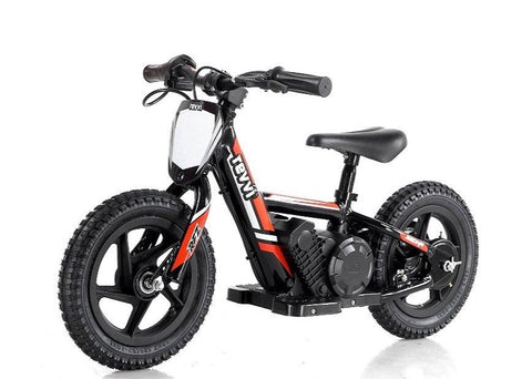 Revvi 12 Inch Electric Balance Bike - Red