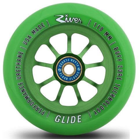 River Glide 110mm Scooter Wheels X2