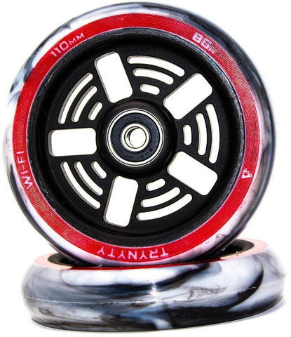 Trynyty Wi-Fi Pro Stunt Scooter Wheel 110mm - Black