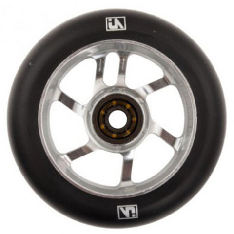 Urbanartt S7 Scooter Wheels - Black On Chrome 110mm