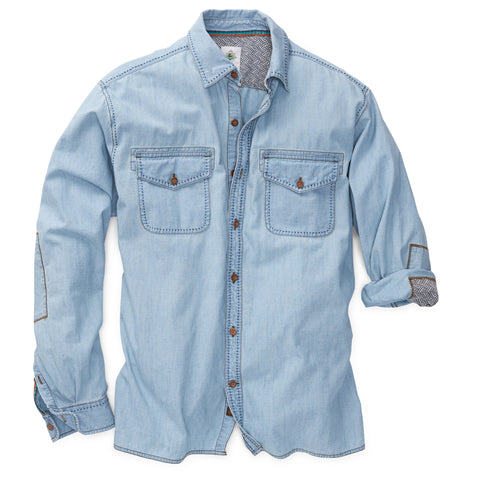 Sunset Roper Chambray Shirt- Tall
