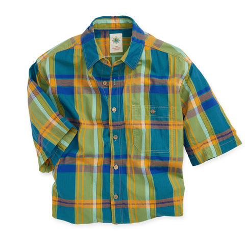 The Big Island Leno Plaid Shirt - Tall