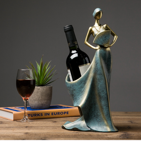 Elegant Tabletop Wine Holder