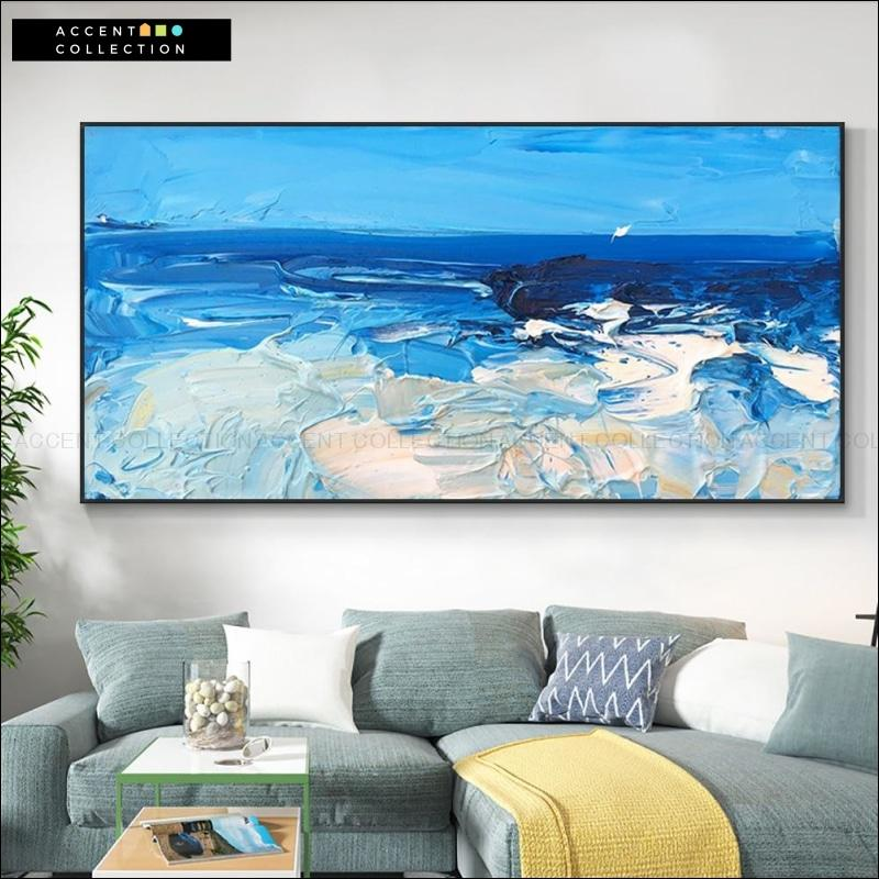 Abstract Sea Hand Painted Oil Painting
