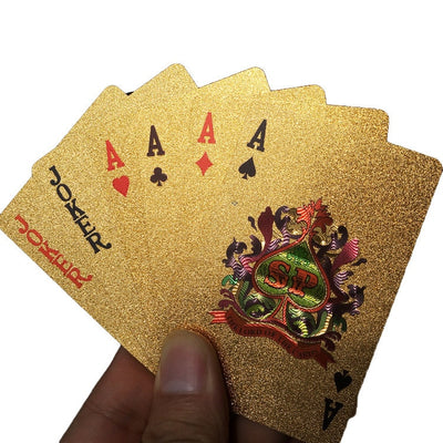 Casino™ 24K Plated Playing Cards