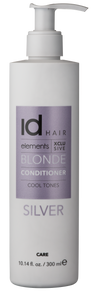 ID HAIR - ELEMENTS XCLUSIVE BLONDE CONDITIONER - SILVER 300ML - Frisøren & Baronen