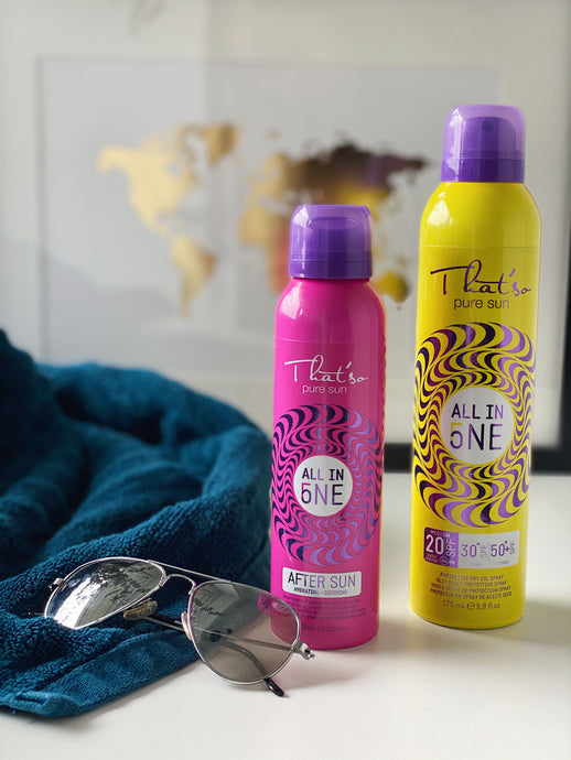That'so All in One sun-creme spray, 250 ml inkl. That´so All in one aftersun 100ml