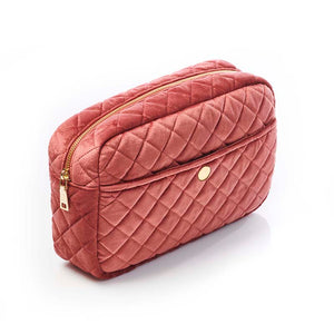 FAN PALM – TOILETRY BAG ROSE LARGE - Frisøren & Baronen