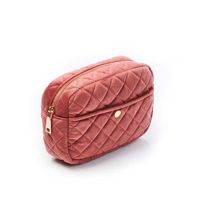 FAN PALM – TOILETRY BAG ROSE MEDIUM - Frisøren & Baronen