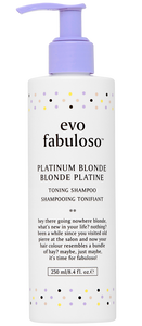 EVO - FABULOSO PLATINUM BLOND SHAMPOO 250ML