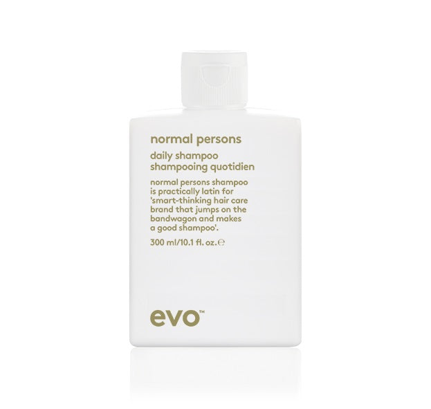 EVO - NORMAL PERSONS DAILY SHAMPOO 300ML - Frisøren & Baronen