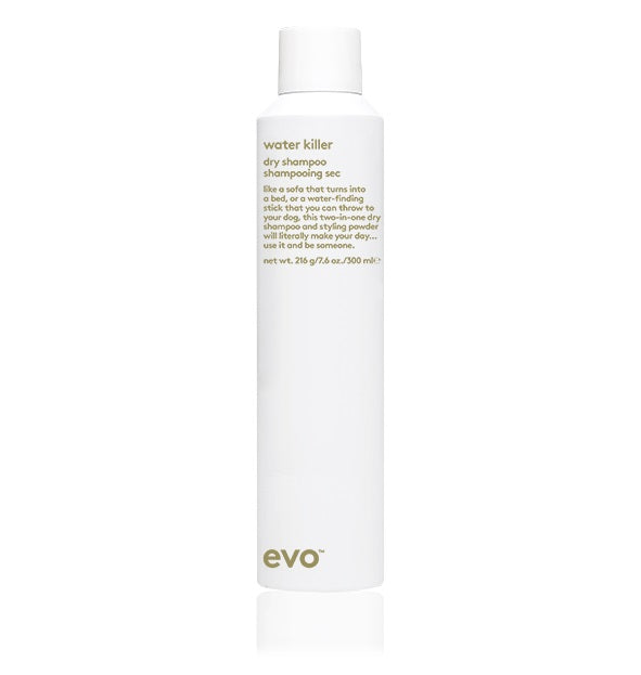 EVO - WATER KILLER DRY SHAMPOO BLOND 200ML - Frisøren & Baronen