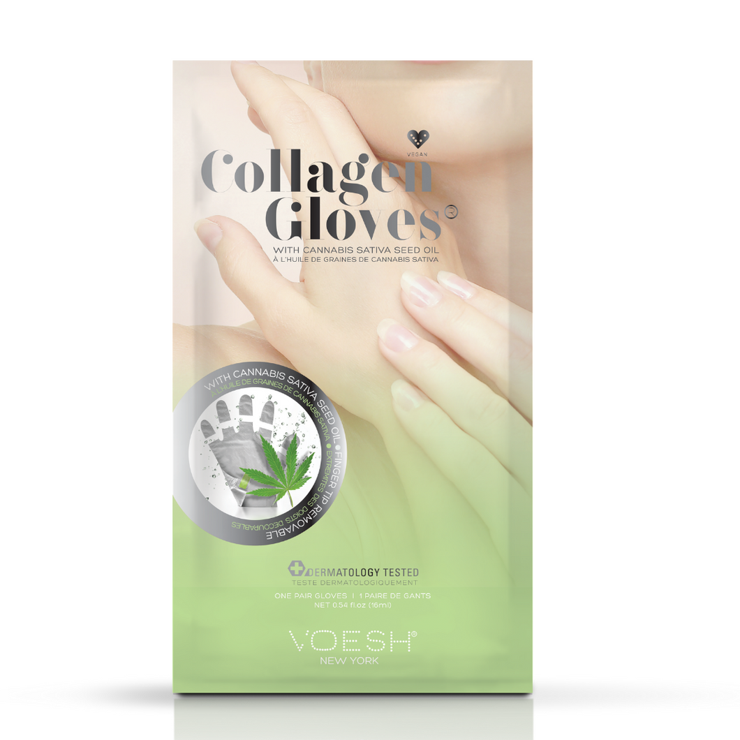 VOESH – Collagen Gloves with CBD Hemp Seed Oil