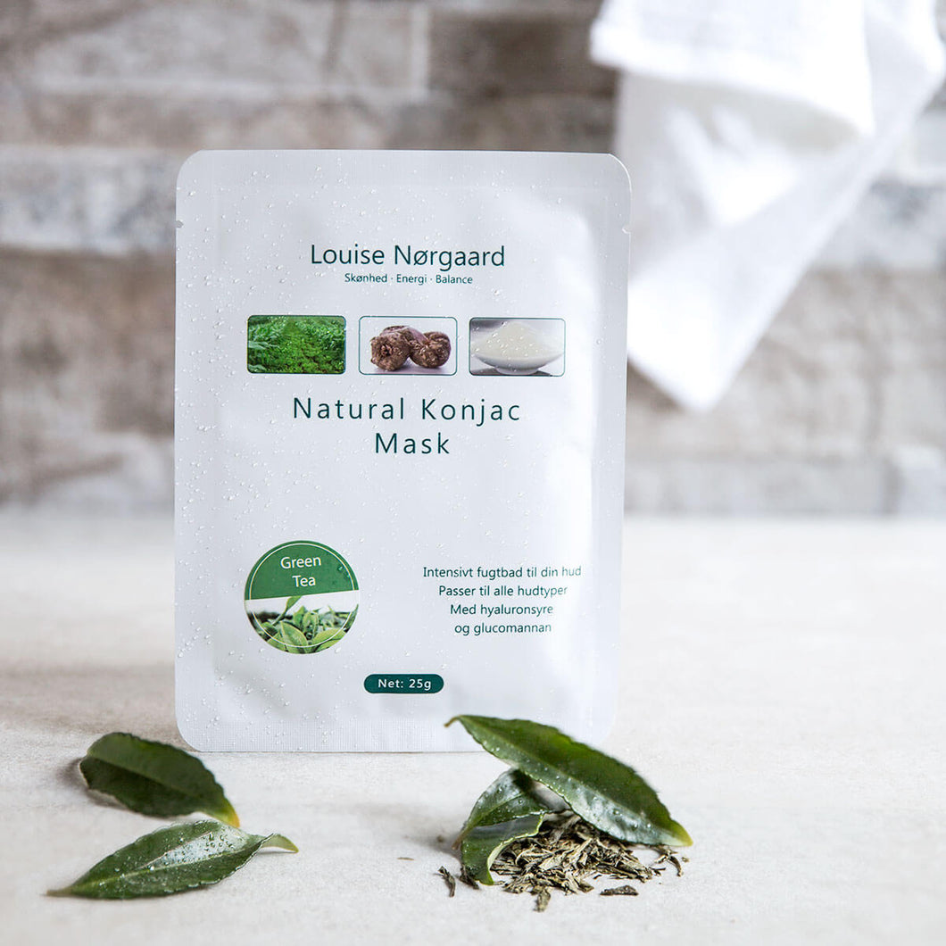 Organic Konjac Mask – Green Tea