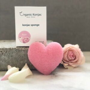Organic Konjac Heartshaped Rose – Limited Edition