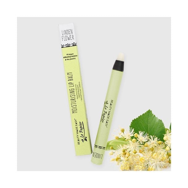 BEAUTY MADE EASY – LE PAPIER - LIP BALM - LINDEN FLOWER