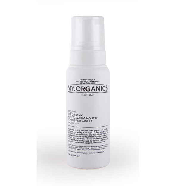 MY.ORGANICS- HYDRATING MOUSSE STRONG 250ML