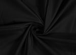 AURAVE Cotton 210 TC Plain Bedsheet (Black & Red)