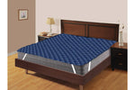 AURAVE Elasticated Quilted Waterproof Mattress Protector (Blue)