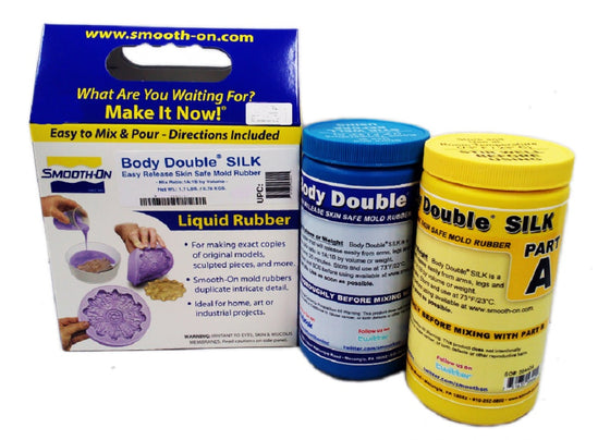 Smooth-On Body Double Silk - Self Releasing Lifecasting Silicone