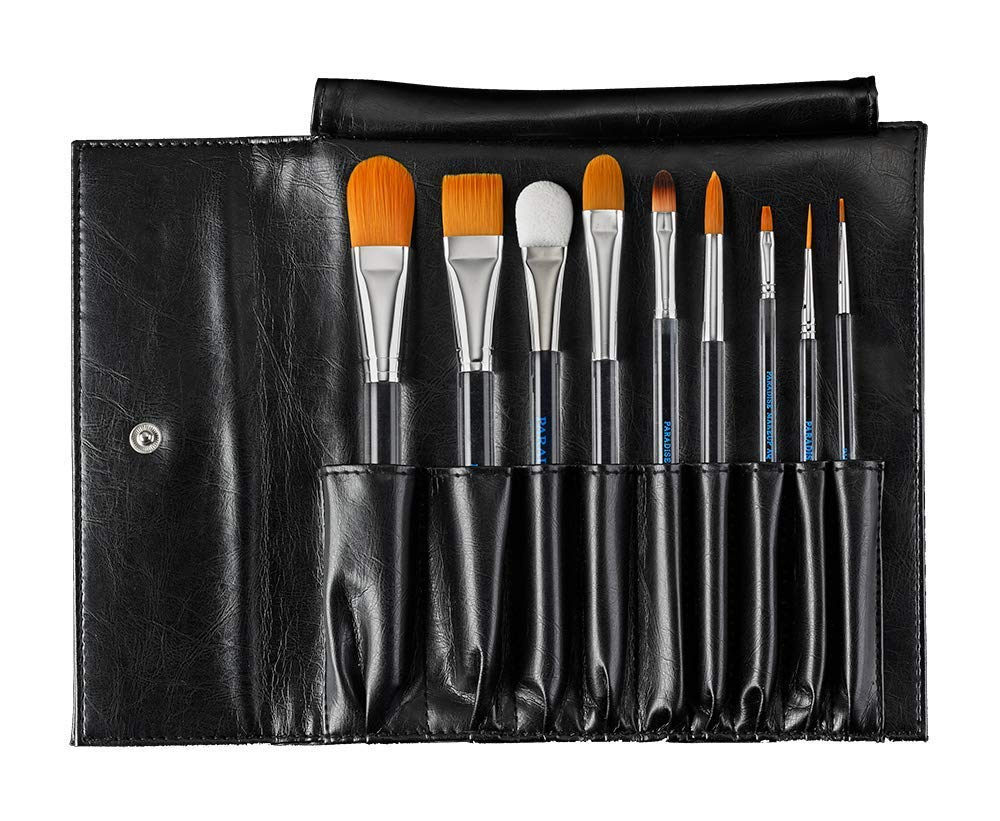 Paradise Makeup AQ Brushes - Face and Body Painting