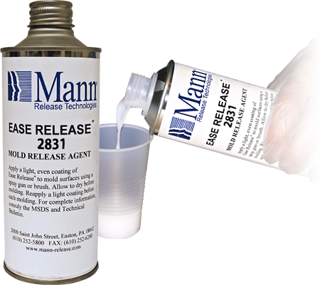 Mann Ease Release 2831 - Mold Release for Urethane Foam - Smooth-on