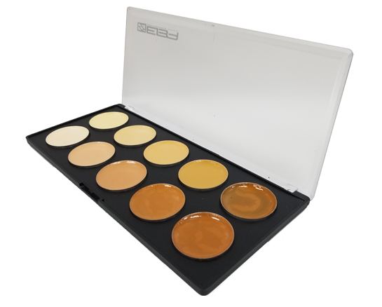 EVO Waterproof Cream Makeup Palettes - by European Body Art