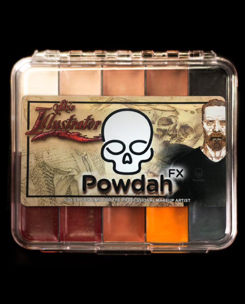 Skin Illustrator Signature Series On Set Powdah Palette