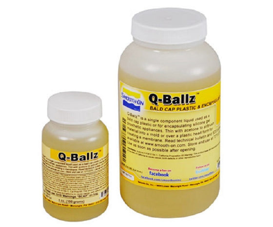 Smooth-On Q-Ballz Bald Cap Plastic & Encapsulant