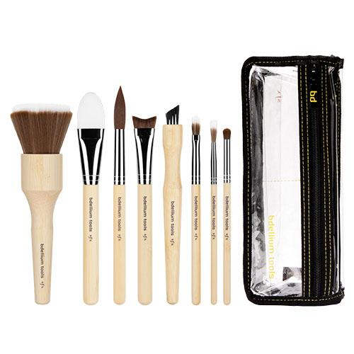 Bdellum SFX Brush Set 8 pc. with Double Pouch (3rd Collection)