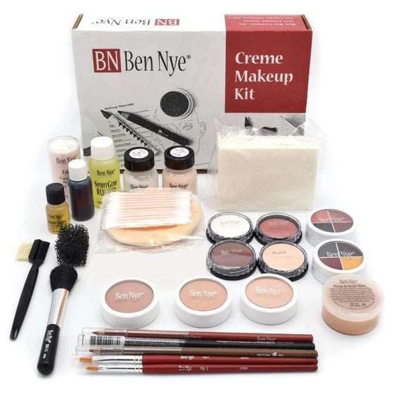 Theatrical Creme Makeup Kit (Large) - Ben Nye