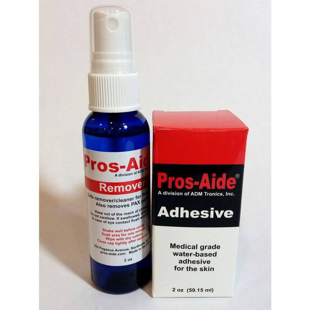 "Adhesive/Solvent - Combo KIT - Pros-Aide ""The Original"" Adhesive And Remover By ADM Tronics"