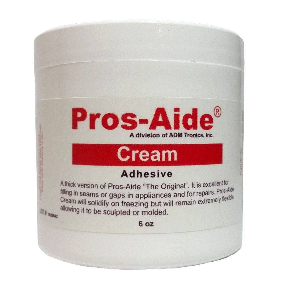 Adhesive/Solvent - Pros-Aide Cream Adhesive By ADM Tronics