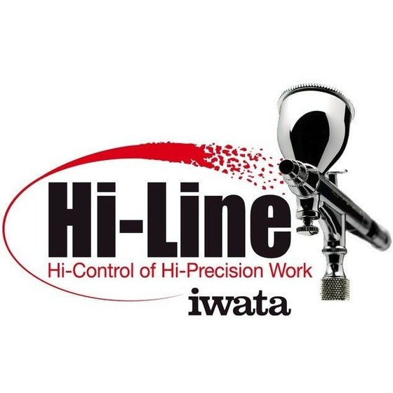 Airbrushes And Compressors - Iwata HP-BH Hi-Line Precision Airbrush *Fine Detail*