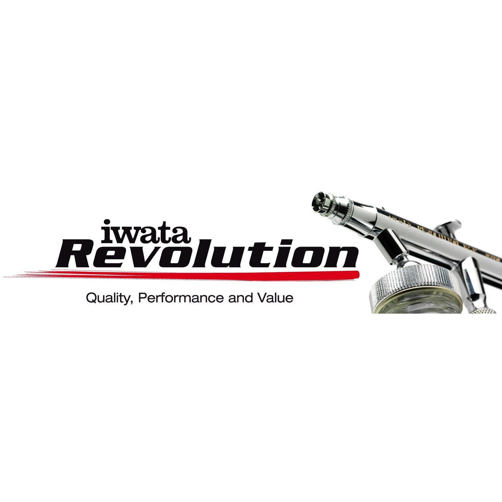 Airbrushes And Compressors - Iwata Revolution CR Top Feed Airbrush *BEST SELLER*
