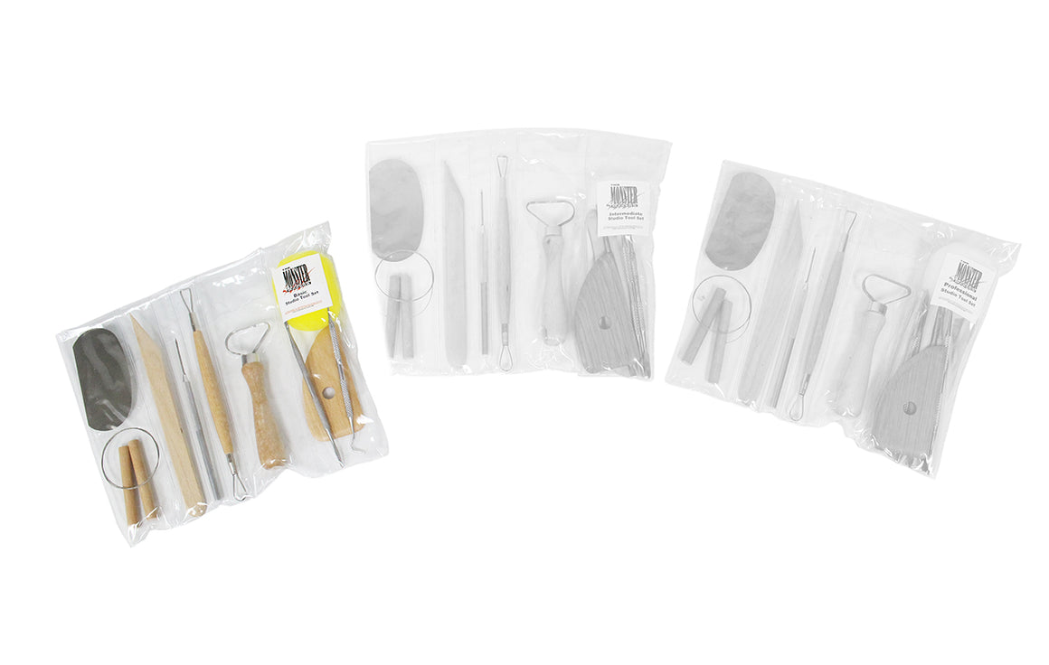 Clay Tool Sets - Basic, Intermediate, Pro