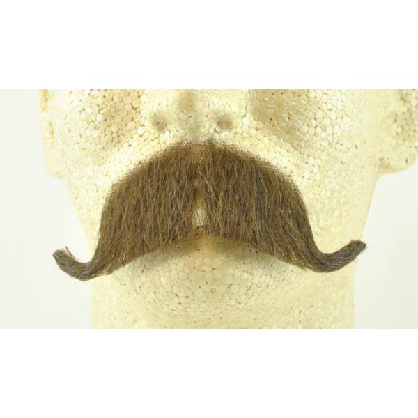 Beards And Moustaches - Colonel Major Or Constable Mustache / Walrus - Human Hair- Item # 2014