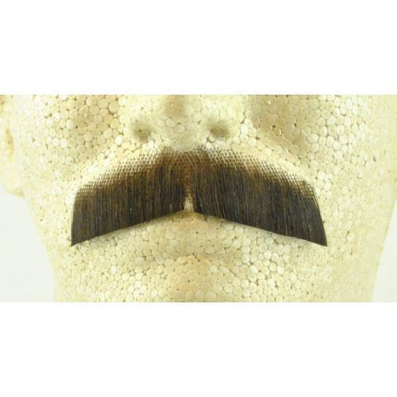 Beards And Moustaches - Gentleman Mustache - Human Hair - Item # 2011