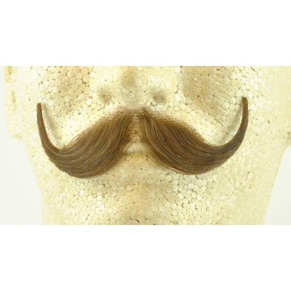 Beards And Moustaches - Handlebar Mustache - Human Hair - Item # 2013