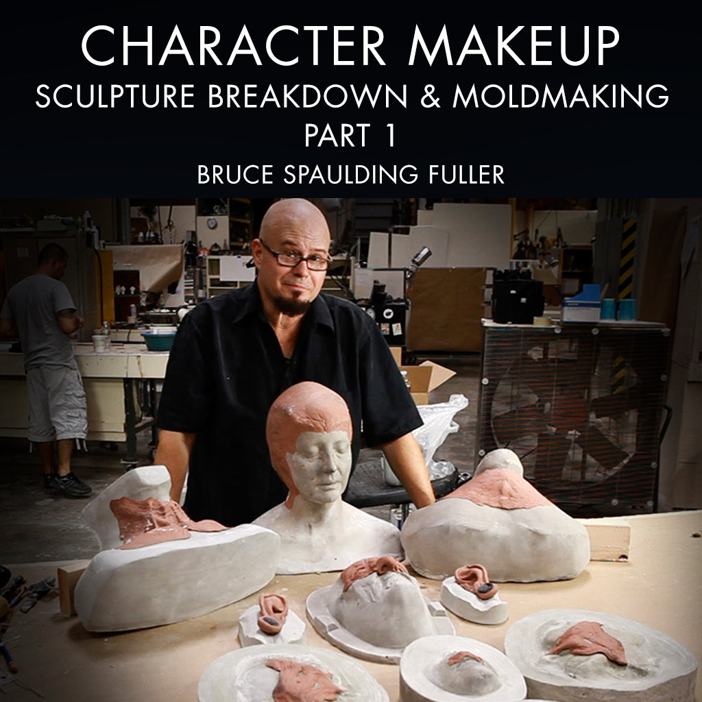Character Makeup - Sculpture Breakdown & Mold Making - Part One