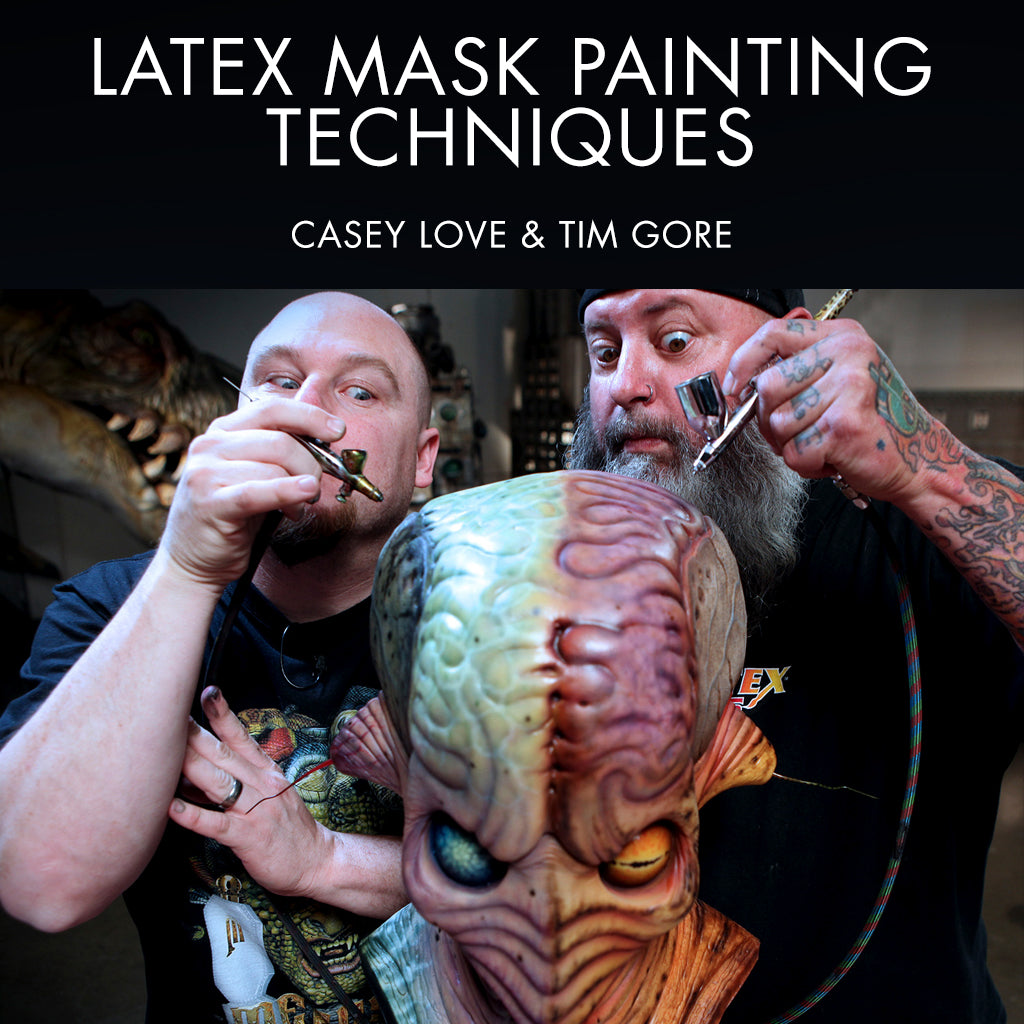 Latex Mask Painting Techniques