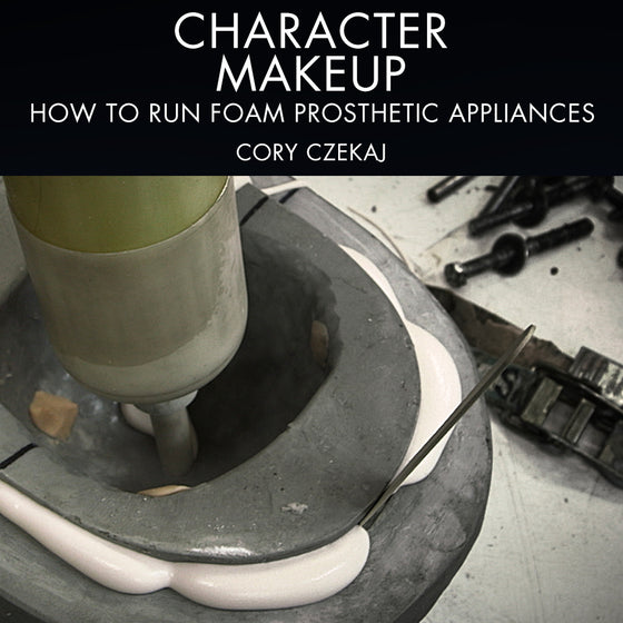 Character Makeup - How To Run Foam Prosthetic Appliances