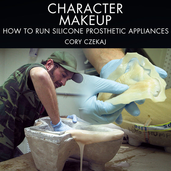 Character Makeup - How To Run Silicone Prosthetic Appliances
