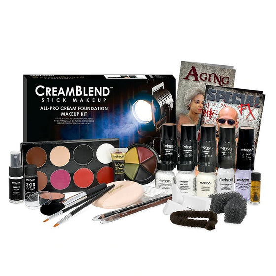 Creamblend All Pro Stick Makeup Kit - Mehron