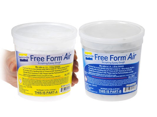 Smooth-On Free Form AIR - Lightweight Epoxy Putty