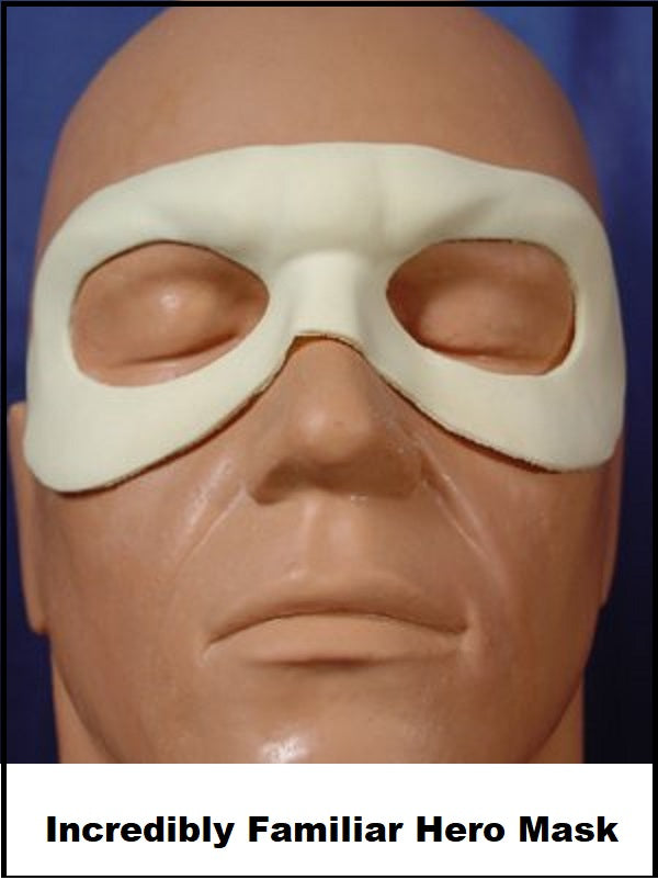 Incredibly Familiar Hero Mask -LARGE- FRW-069L